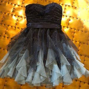 Stunning, Teeze Me, Formal Sparkle Dress, Size 1/2